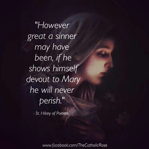 #saints #quotes #mary