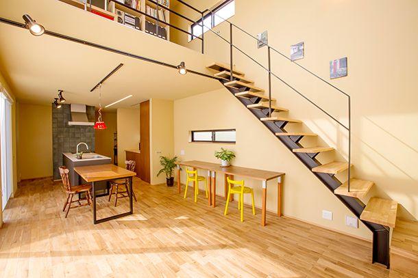 リビングを朝日が照らす家・間取り(愛知県大府市) |ローコスト・低価格住宅 | 注文住宅なら建築設計事務所 フリーダムアーキテクツデザイン