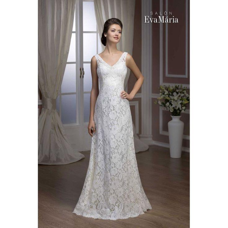 Svadobné krajkované šaty Secilia