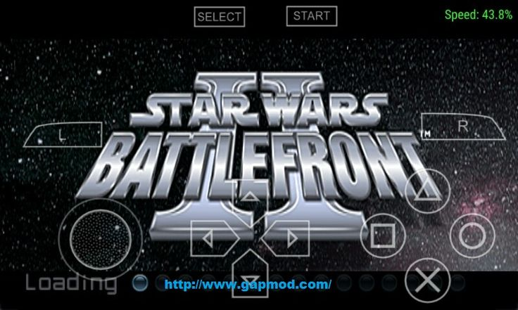 Star Wars - Battlefront II (USA) ISO PSP Android