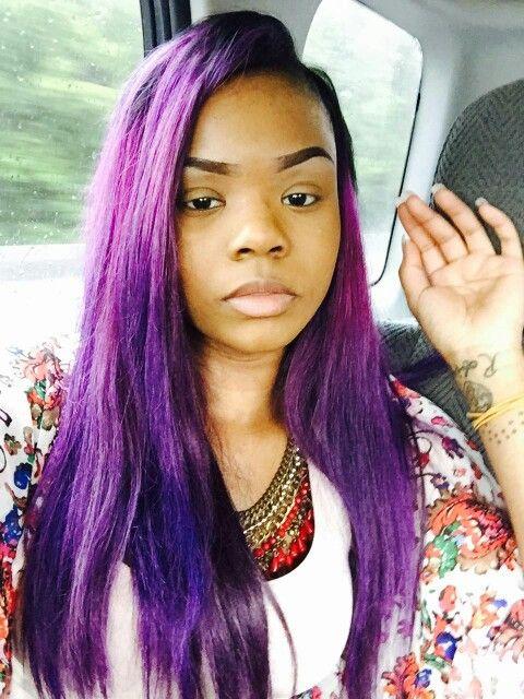 Purple Rage Adore Dye Weave Hair Laid Pinterest Rage