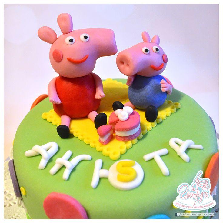 Peppa Pig cake https://www.facebook.com/katrin.smirnova.3958