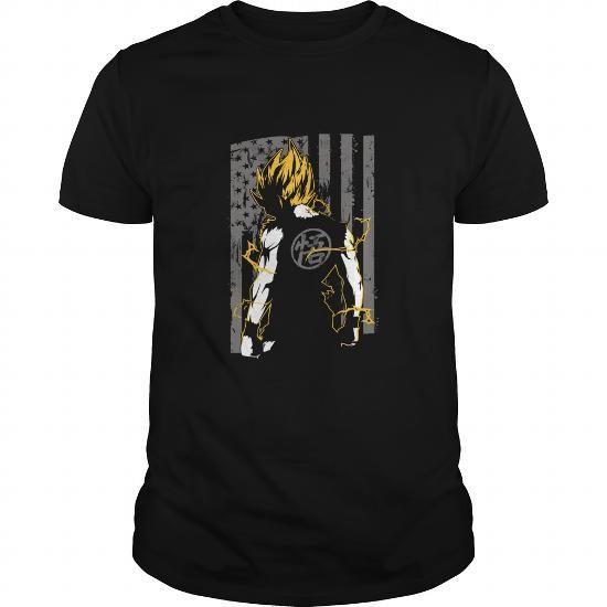 Cool American Super Saiyan Goku T Shirt Shirts & Tees