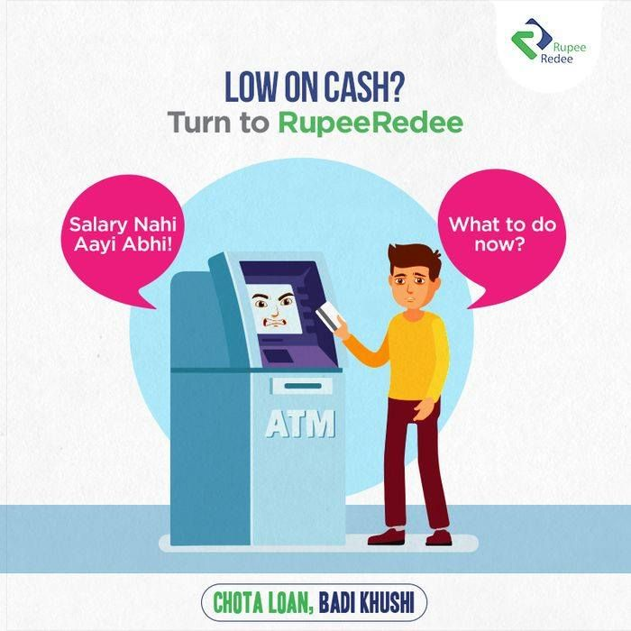 Are You Broke Even Before The Month End Worry Not Apply For Chotaloan With Rupeeredee Get Instant Cash Within 5 Personal Loans Instant Cash How To Apply