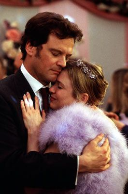 Mark Darcy, Bridget Jones Diary. Modern day take on Jane and Pride and Prejudice. Collin actually reprises his role as Darcy. Not a long stretch