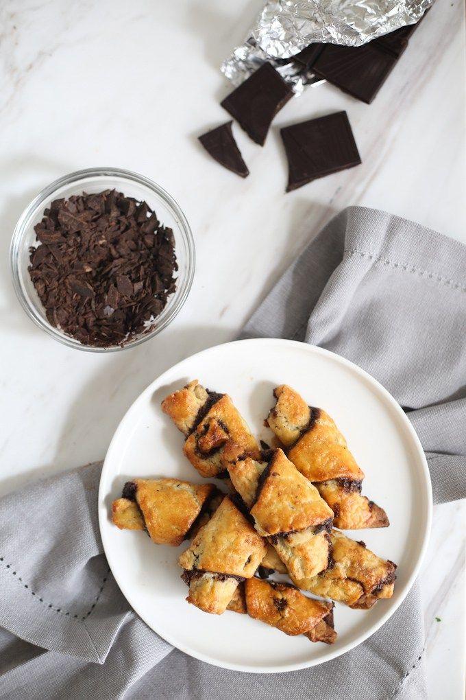 Israeli cinnamon chocolate rugelach