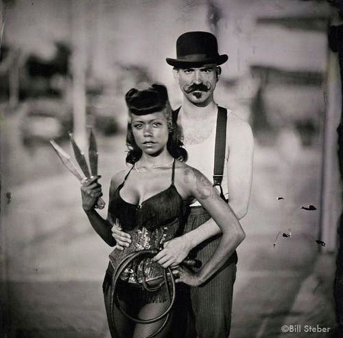 My favorite sideshow freaks of all time | Heather Holliday and Donny Vomit :-)