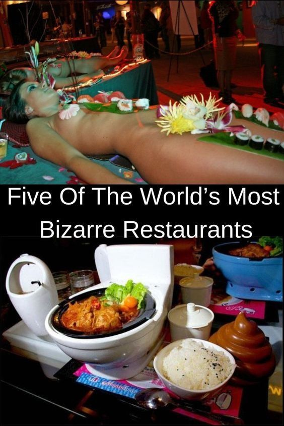 Five Of The World S Most Bizarre Restaurants History