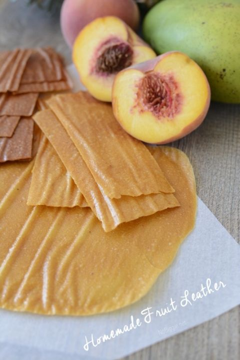 Homemade Fruit Leather - the flavor combinations are amazing! | NoBiggie.net