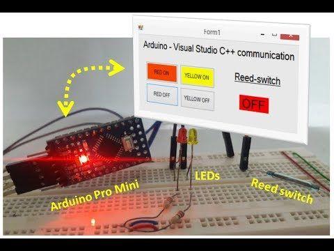 arduino - Visual Studio GUI communication #arduino #hardware