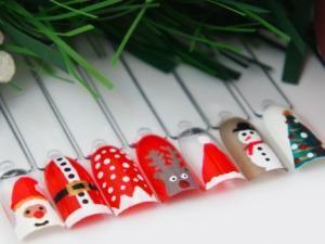 Toto nail art de Noël sur le blog de Kit-Manucure.com