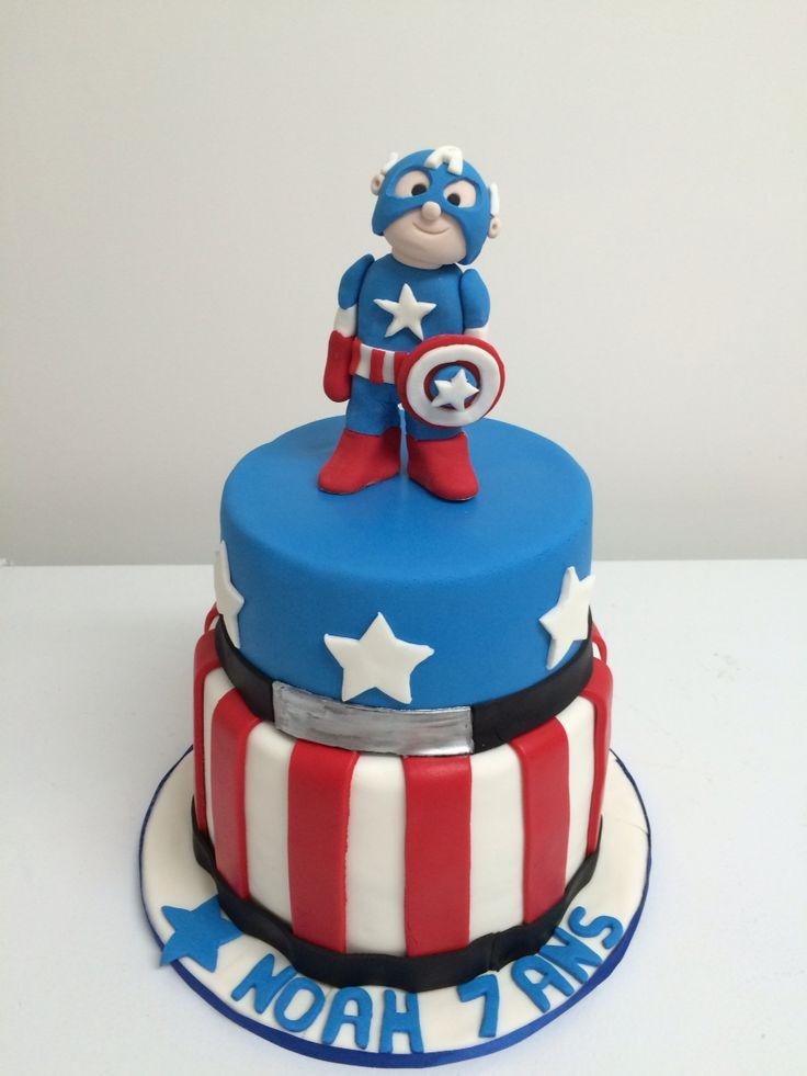 Capitaine America cake