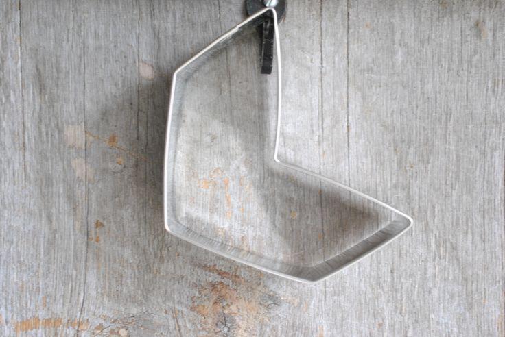 Chevron Cookie Cutter 3 inch Baking / Christmas Craft Supplies