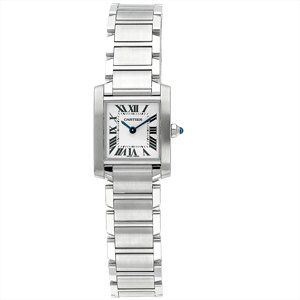 Cartier Women's W51008Q3 Tank Francaise Stainless Steel Watch  have this/love this! http://www.thesterlingsilver.com/product/michael-kors-womens-gold-tone-steel-bracelet-case-quartz-pink-dial-analog-watch-mk3444/