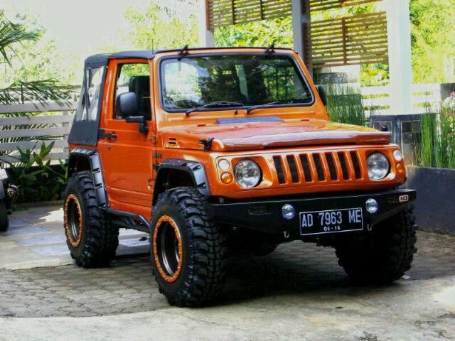 Mobil Suzuki Jimny Katana Sanctuary orange_4 | Stuff to ...