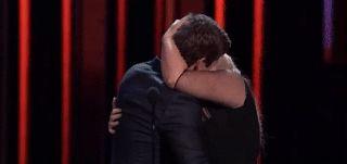 Hot GIF kiss rebel wilson pitch perfect 2 adam devine movie awards movieawards16 best kiss