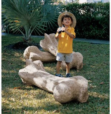Design Toscano Gigantic Dinosaur Bone Sculpture   Every Kid Dreams Of  Finding A Dinosaur Bone, And Now You Can Make That Dream A Reality With The  Design ...