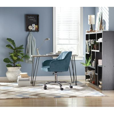 Teal Mid Back Office Chair From Wayfair Give Your Workspace A Stylish  Update With This