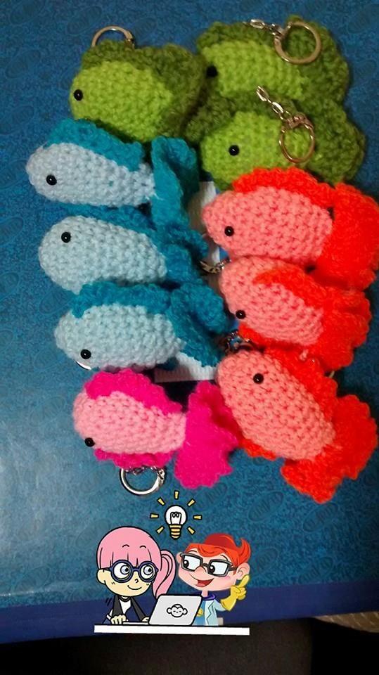 Llaveros peces