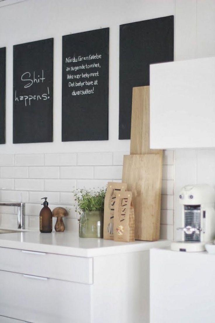 Meer dan 1000 ideeën over witte houten keukens op pinterest   wit ...