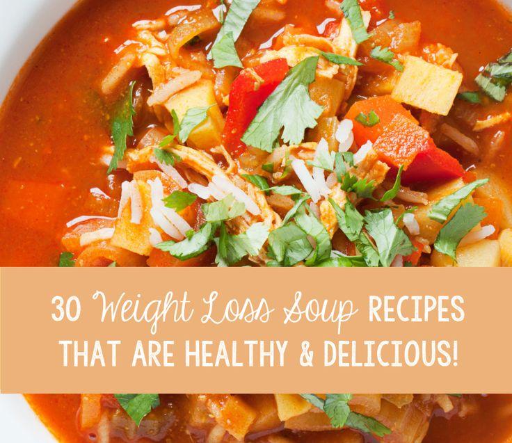 30 Weight Loss Zupa Przepisy, które są zdrowe i pyszne!