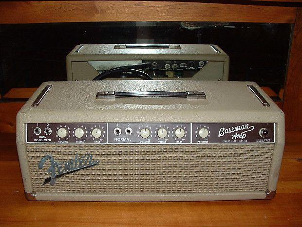 Fender Bassman Piggyback 1963 | Amplified | Bluegrass music