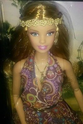 BARBIE FESTIVAL DOLL # THE LOOK 2016 NEW BOHO HIPPIE ON SALE FREE SHIPPING US PR