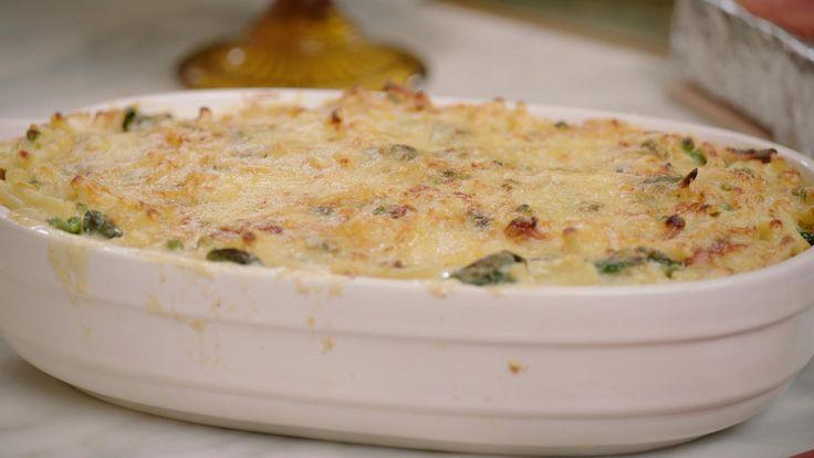Macaroni met kip, spinazie en erwtjes | Dagelijkse kost