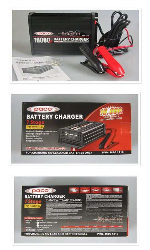 12v 10a Leisure Battery Charger - Alpha Batteries