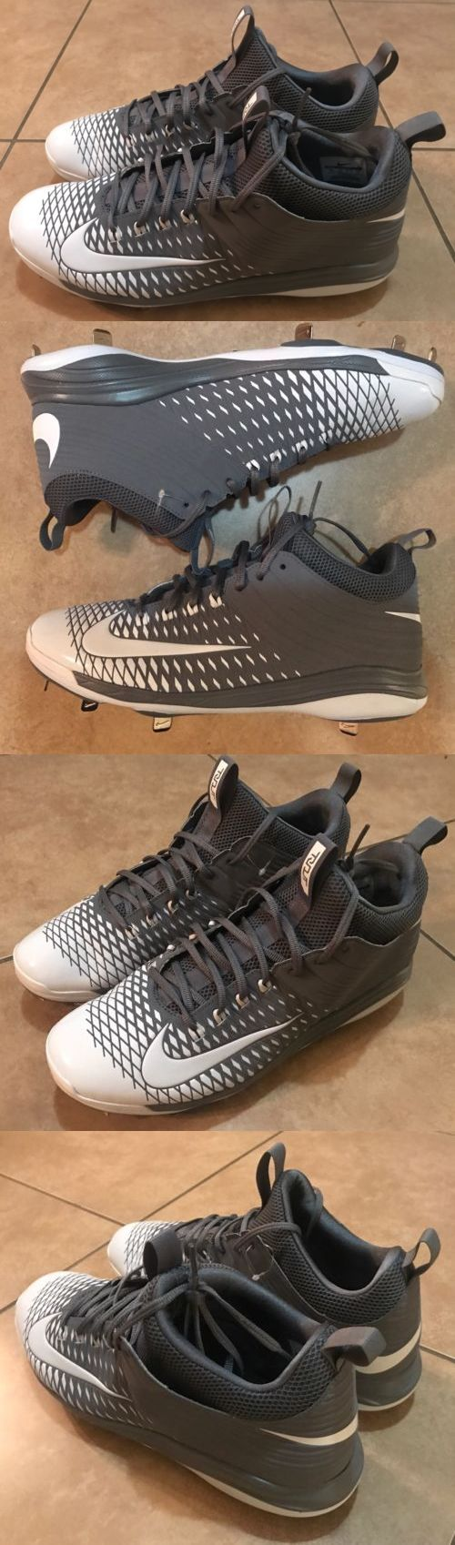 free shipping af04d ad8be ... sale mens 159059 nike trout 2 pro low baseball metal cleats white grey  807133 010 bb33f