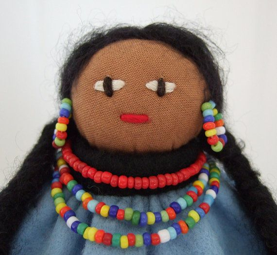31 best images about native american and wild west dolls for Native american handmade crafts