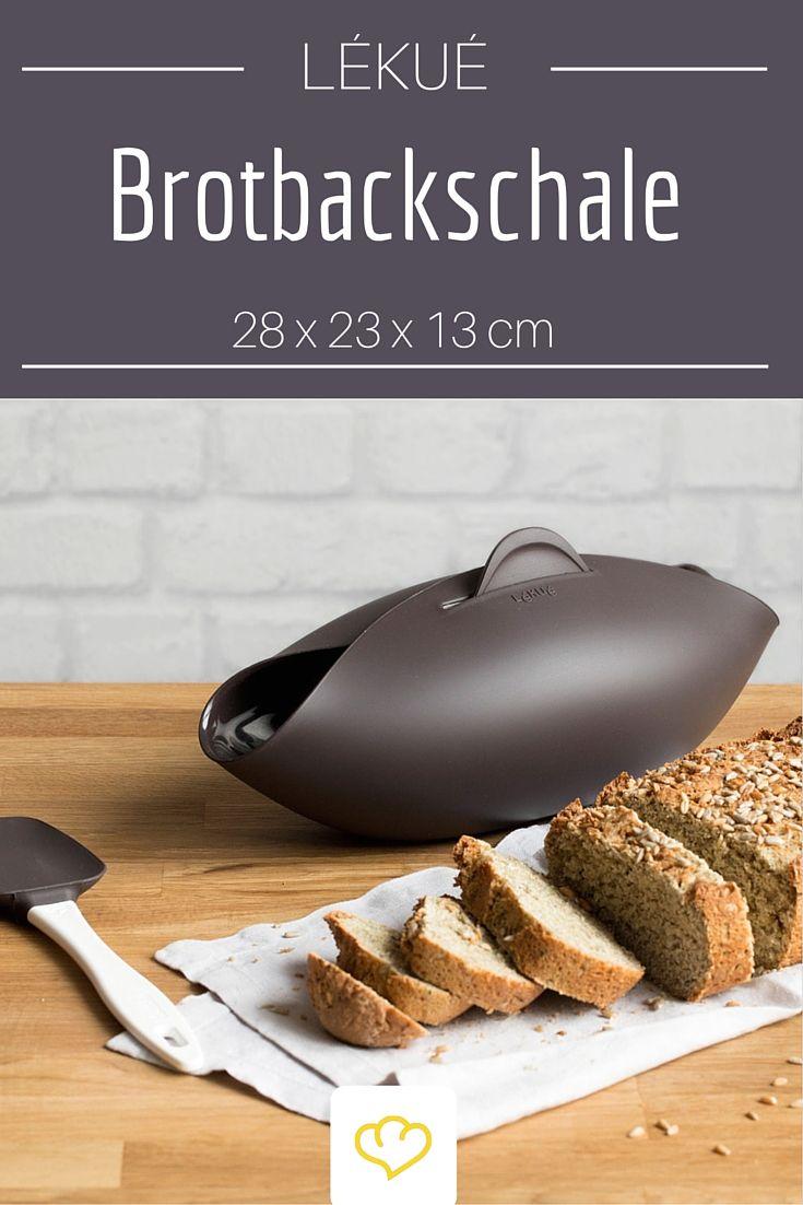 Frisch gebackenes Brot schmeckt einfach am besten. Hat man es sogar selbst gebacken ist es etwas ganz besonderes. Mit der Lékué Brotbackschale aus Silikon gelingt's garantiert.