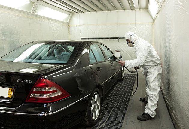 Pintura Automóvel: Pintura com base aquosa, Recondicionamento e Polimento.