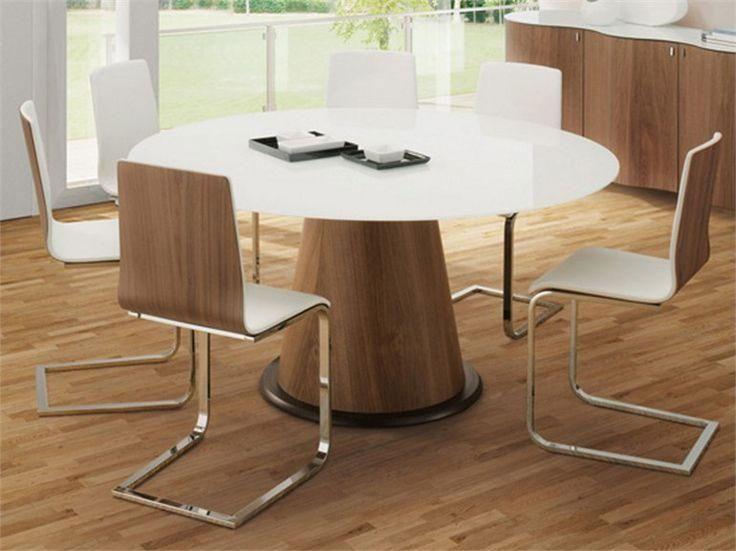 Las 25 mejores ideas sobre mesas redondas de madera en for Como hacer una mesa redonda de madera