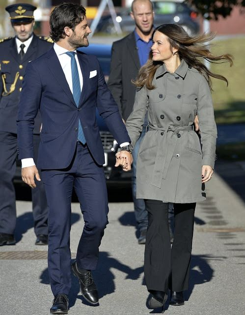 Princess Sofia and Prince Carl Philip attend opening of 'Sports Without Borders'