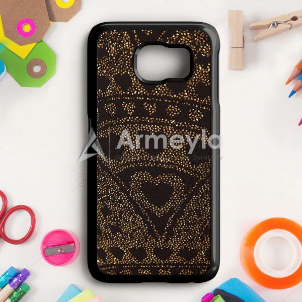 Asos Leggings In Glitter Heart Samsung Galaxy S6 Edge Case | armeyla.com