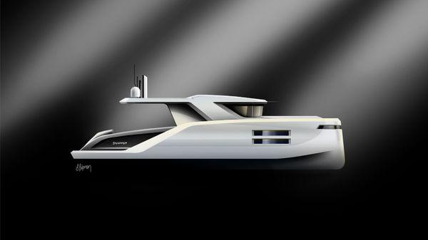 Yacht Design by Serdar Sisman, via Behance