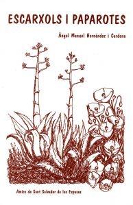 """Aquest llibre és dedicat principalment a Olesa de Montserrat i el seu títol significa """"atzavares i roselles"""", en paraules vernacles olesanes. Precisament la coberta representa aquestes dues plantes en un suggerent dibuix de Salvador Bassó. El mateix títol ja indica el seu caràcter miscel·lànic."""