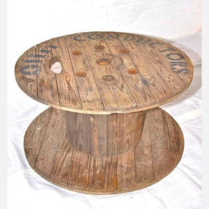 Wood Spool Coffee Table now featured on Fab.