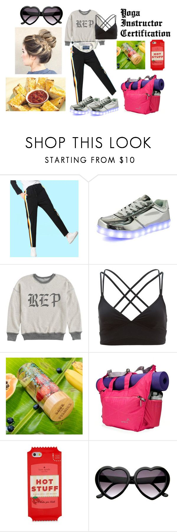 """""""Yoga Certification"""" by eva-beatrice-bowman on Polyvore featuring TYR, Apera and Kate Spade"""