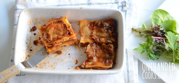 Lasagna with ricotta