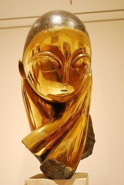 Mlle Pogany by Constantin Brancusi - NYC - Manhattan - Museum of Modern Art [MoMA]