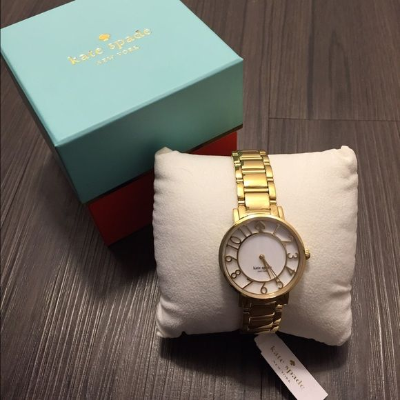 Kate Spade gold watch Brand NEW and NO trades please. kate spade Accessories Watches