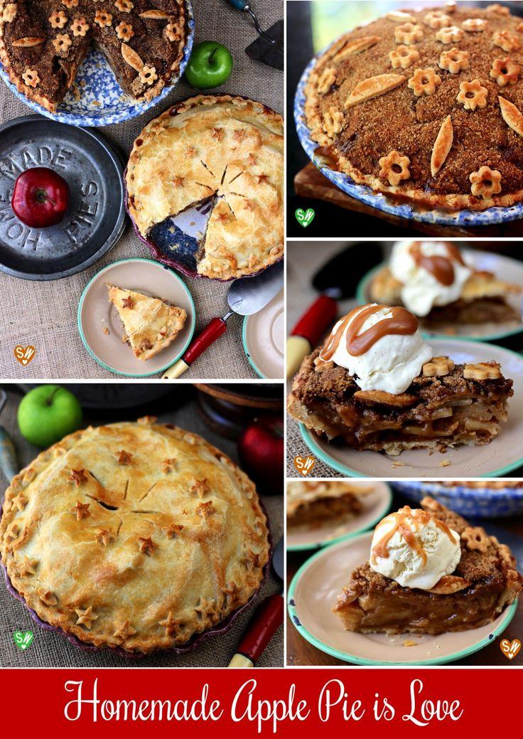 SugaryWinzy Apple Pie with Brown Sugar Cinnamon Crumb Topping a la ...