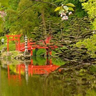 Parc oriental de maul vrier la magie d un jardin japonais for Jardin japonais cholet