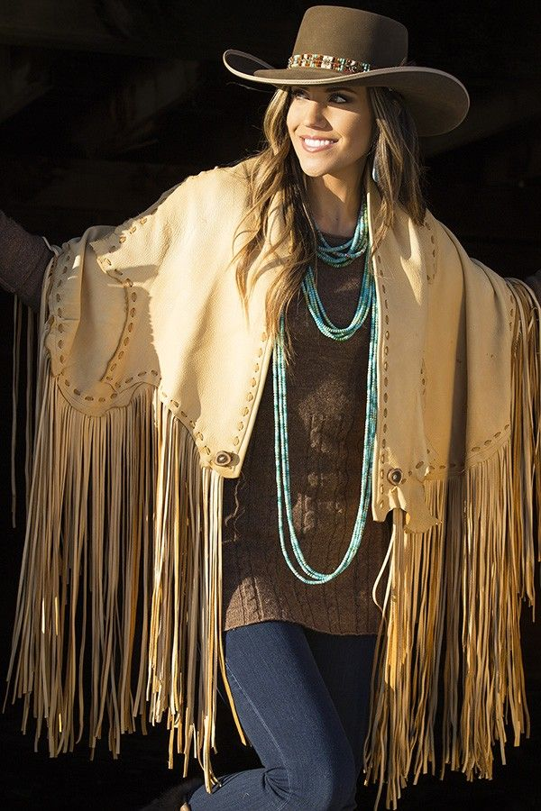 ~ Teamed with her Sonora Long Strands is Brit West's Chickasaw Wrap that doubles as a skirt.  Along with her turquoise jewels, all pieces modeled by Jena Lee Venturacci. ~