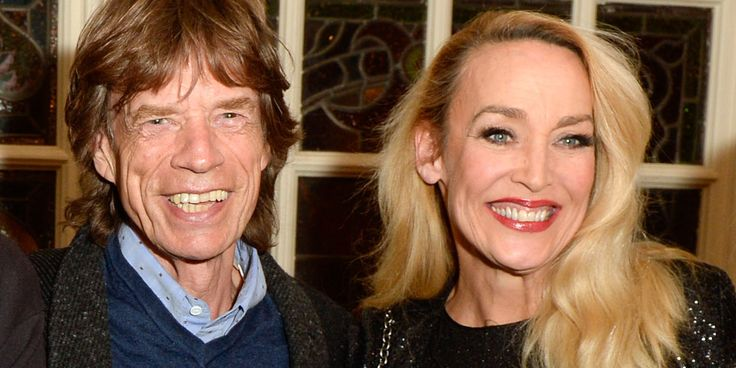 15 Pairs of Celeb Parents and Their Stylish Celeb Kids  - Jerry Hall and Mick Jagger TownandCountryMag.com