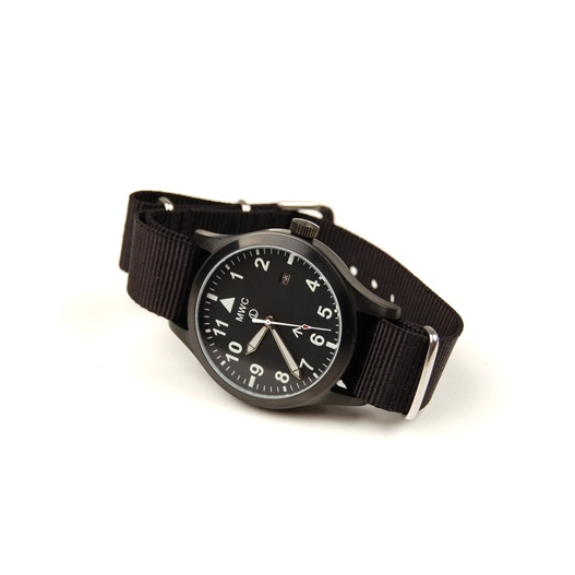 military watch company mwc mk iii automatic black