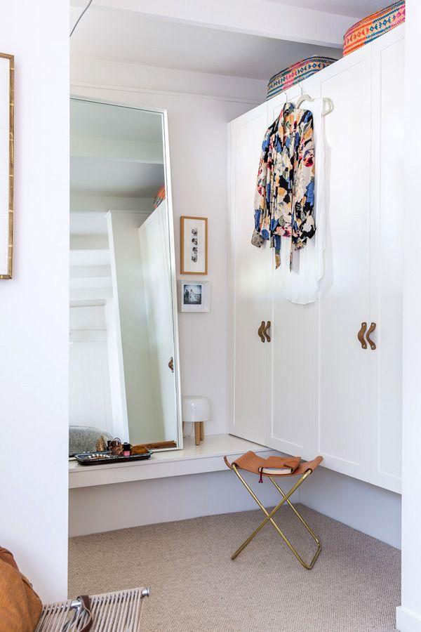 Simone Haag home, cute dressing room