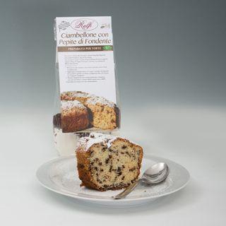 Preparato per Ciambellone con Pepite Fondenti......Vieni a trovarci sul sito www.rulfi-cake.my...